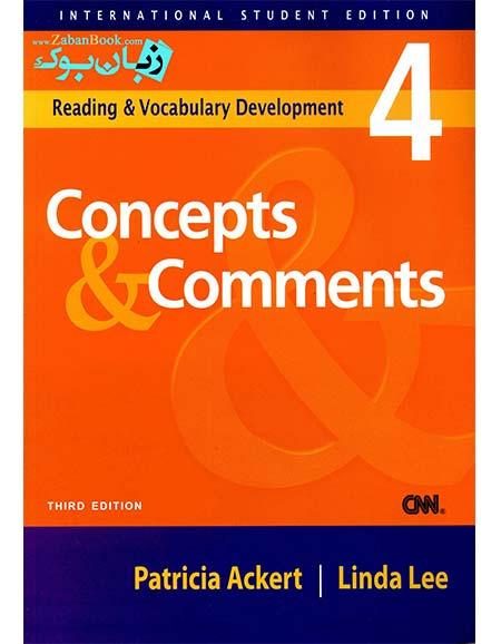 دانلود راهنمای کتاب concepts and comments